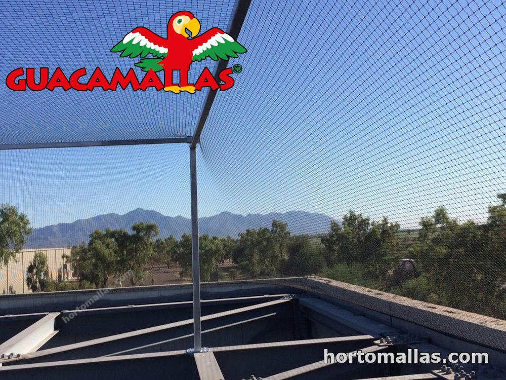 metodos de barrera para aves